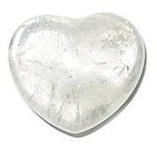 Hart Bergkristal - Groot - 40 mm