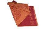 Flower of Life Handdoek Oranje - Levensbloem