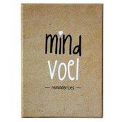 Mind voel - Mindfulness kaartjes