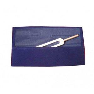 Blauw opbergtasje voor één stemvork tot 26 cm.