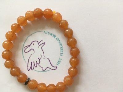 Armband aventurijn oranje