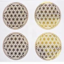 Sticker Flower of Life - Levensbloem - Bloem des Levens