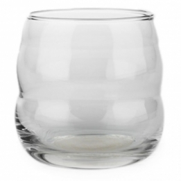 Drinkglas Mythos Bloem des Levens - levensbloem - Flower of Life - Wit