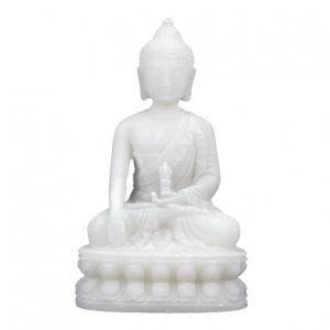 Boeddha - Buddha - beeldje wit