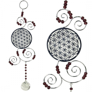Decoratie Hanger Feng Shui - Flower of Life - Levensbloem