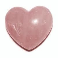 Hart Rozenkwarts - Roze kwarts - Medium - 30 mm