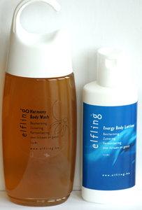 Elfling - Energy Body Lotion & Harmony Body Wash